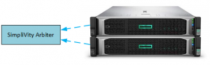SimpliVity Cluster with Arbiter